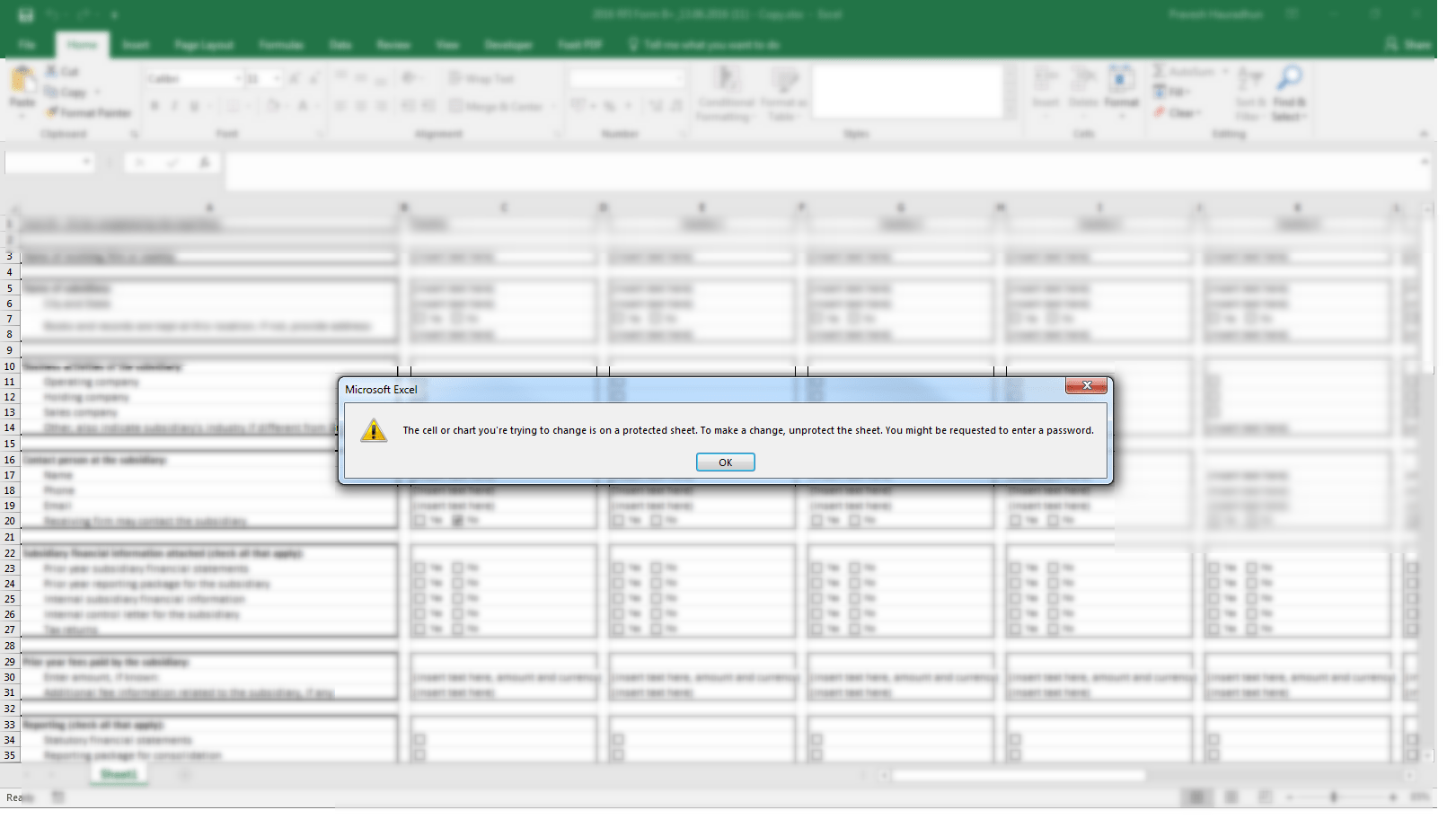 Remove Password From Excel