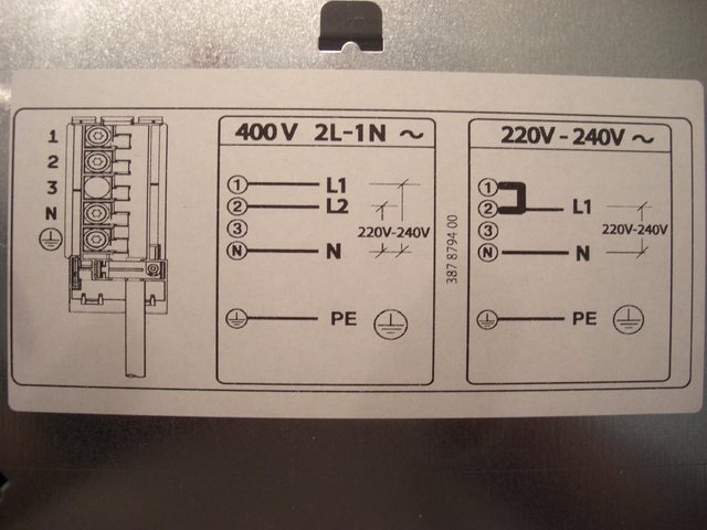 Wiring Diagram Oven And Hob