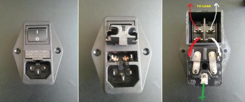 small resolution of ac why is this switched power inlet fused on both load and neutral 125vac power inlet receptacle wiring inlet ac