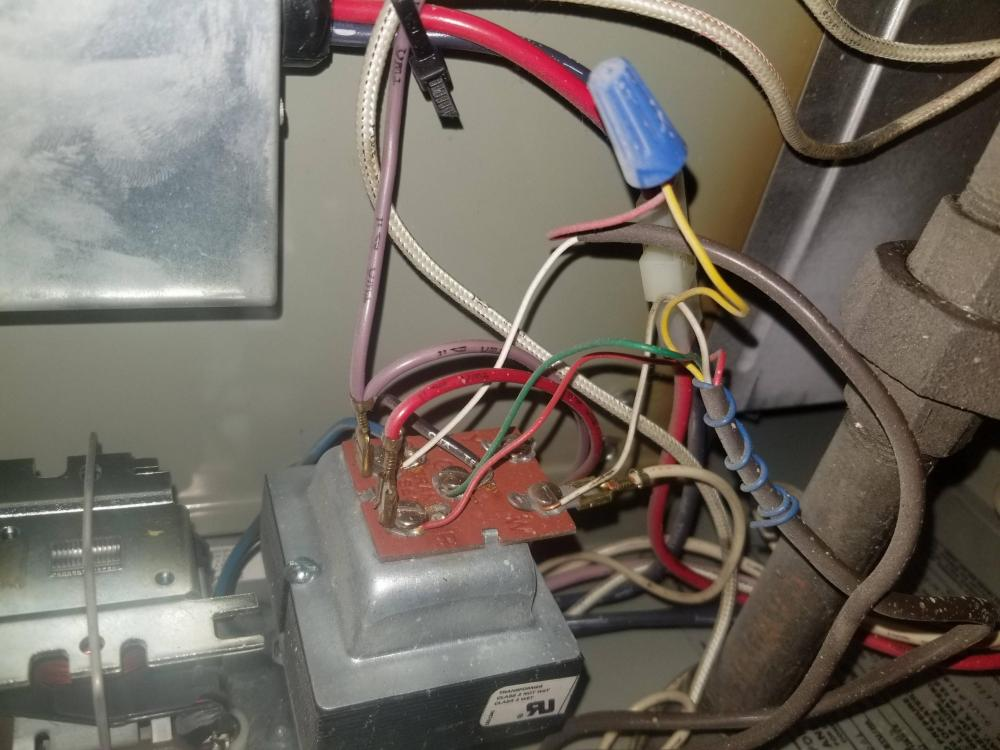 medium resolution of thermostat where to connect c wire in furnace home improvement intertherm mobile home furnace wiring diagram