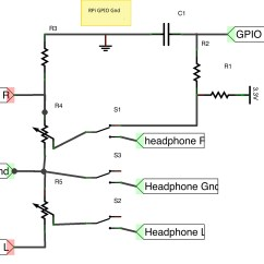 Stereo Headphone Wiring Diagram Dinner Table Setting How Can I Use The Rpi Gpio To Make A Sensing