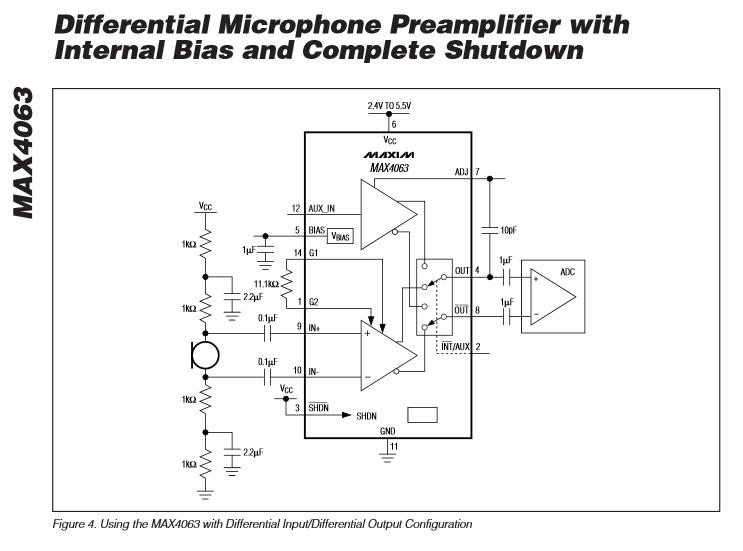 Akg Microphone Wiring Diagram Amplifier Electret Microphone Selecting A Bias Resistor