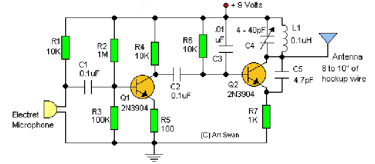 Replace Electret Microphone With Arduino Output