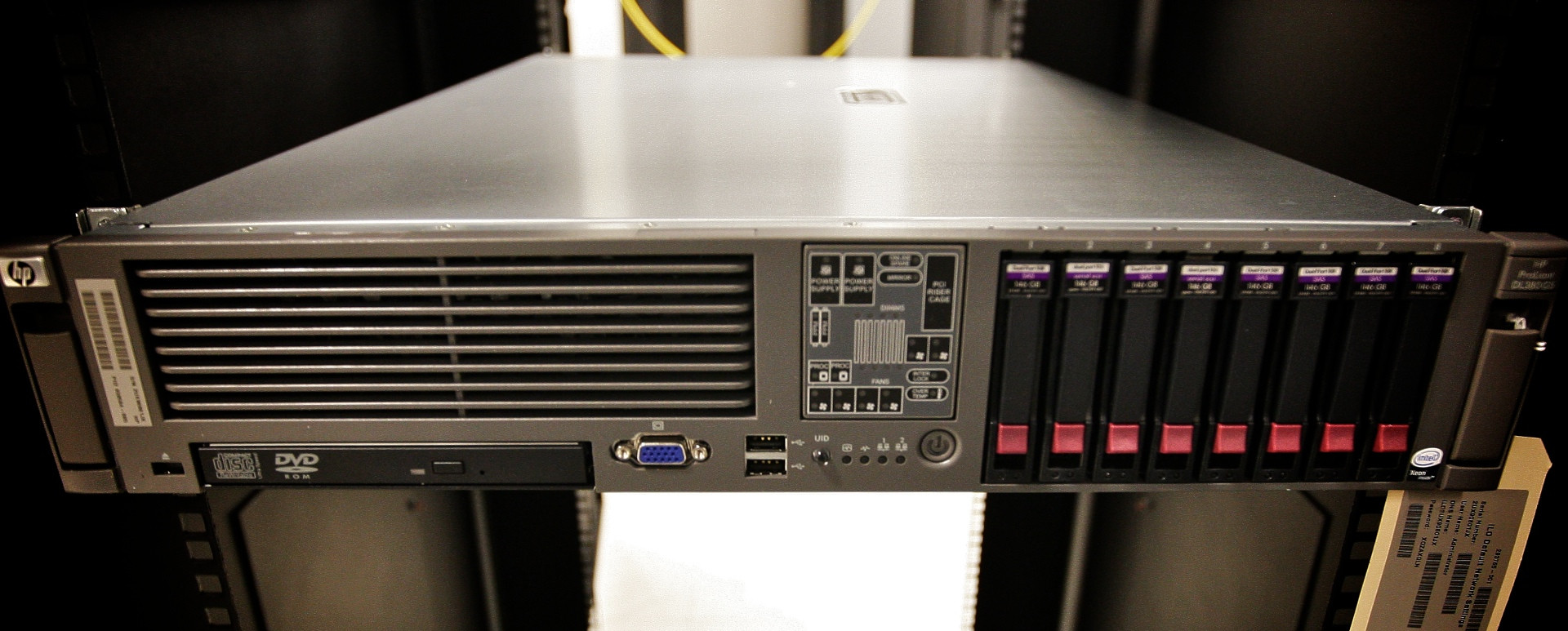Storage HP ProLiant DL380 G4 RAID Conversion Server Fault