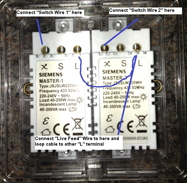 Electrical How To Replace A Standard 2 Gang Light Switch With An