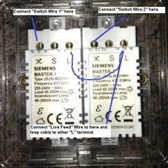 2 Way Dimmer Wiring Diagram Dual Voice Coil Subwoofer Electrical How To Replace A Standard Gang Light Switch With An Annotated Image