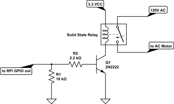 ac solid state relay a5p203