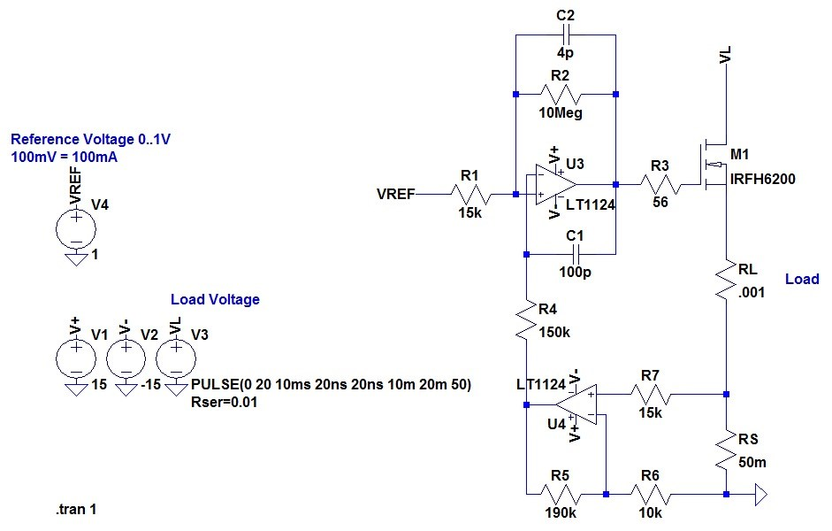 OpAmp Based Constant Current