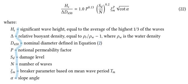 How to write a perfect equation parameters description? - TeX