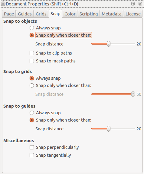 Snap To Grid : Inkscape, Graphic, Design, Stack, Exchange