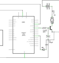i ve attached a diagram i made of my circuit in fritzing arduino uno  [ 1386 x 861 Pixel ]