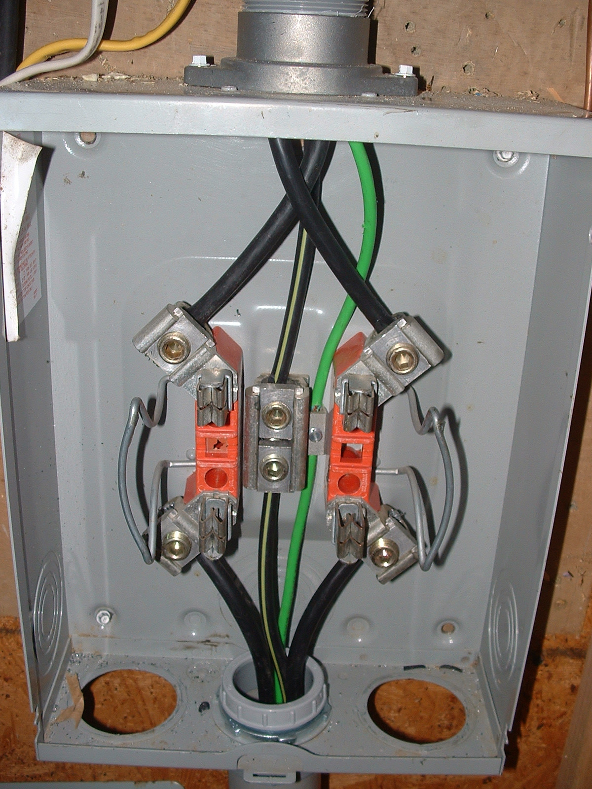 Electric Meter Base Wiring Diagram