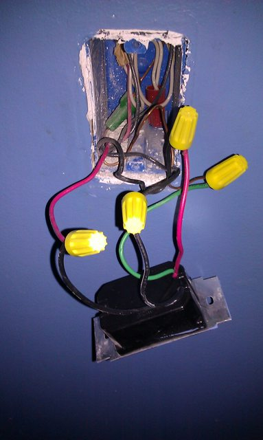 4 Way Fan Light Switch