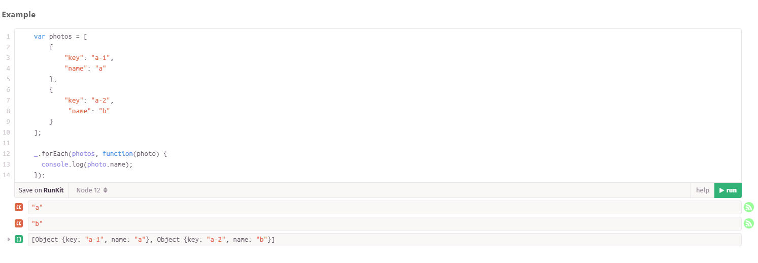 javascript - Lodash forEach iterates incorrect for array of objects - Stack Overflow
