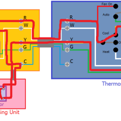 Heat Pump Thermostat Wiring Diagram Schematic Programmable - Adding A C Wire To New Honeywell Wifi Home Improvement Stack Exchange