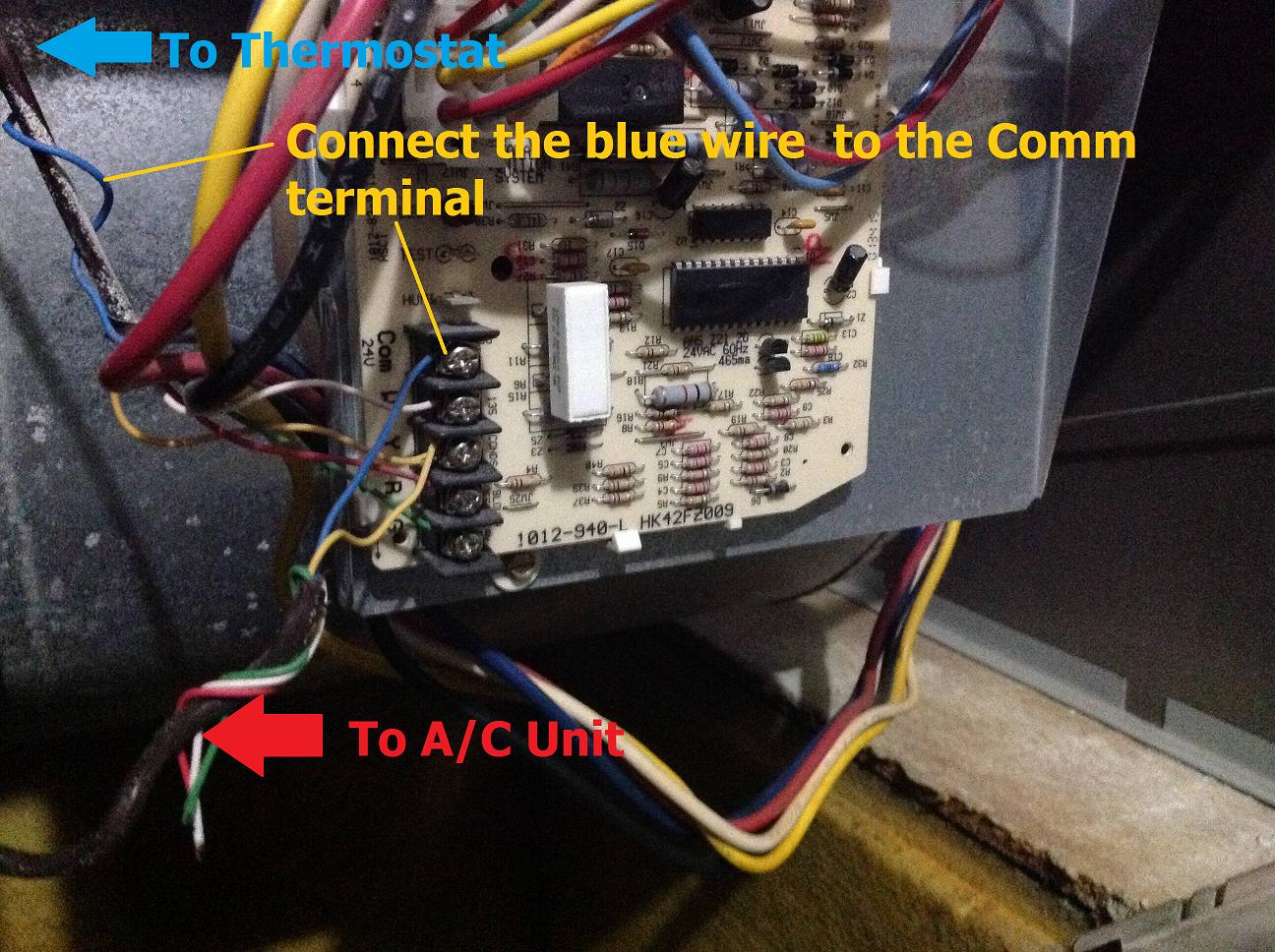 Wiring A Honeywell Wifi Thermostat