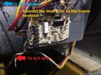 electrical - Installing of Honeywell Wi-Fi Programmable ...