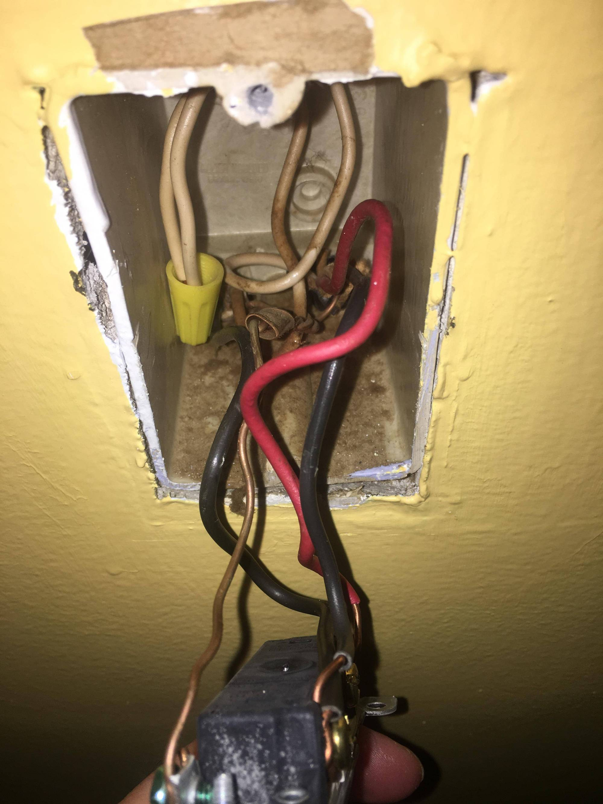 hight resolution of installing a ceiling light and rewiring switch and outlet