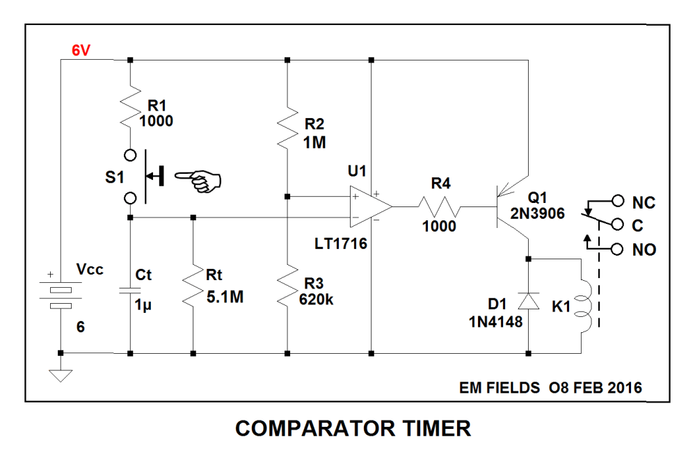 medium resolution of relay how can i add a power off delay to this circuit electrical power on delay circuit diagram