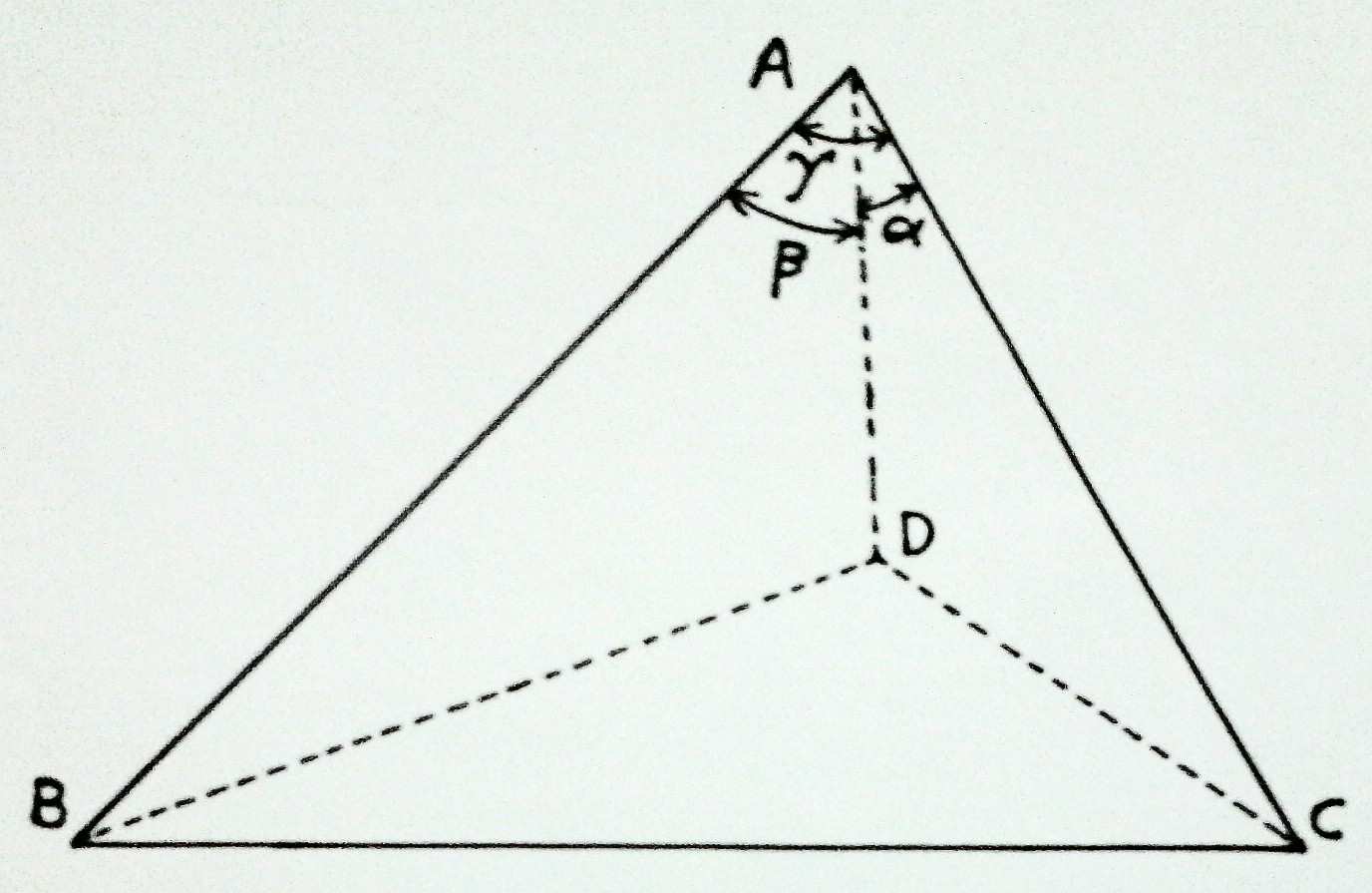 How To Find Out The Solid Angle Subtended By A Tetrahedron