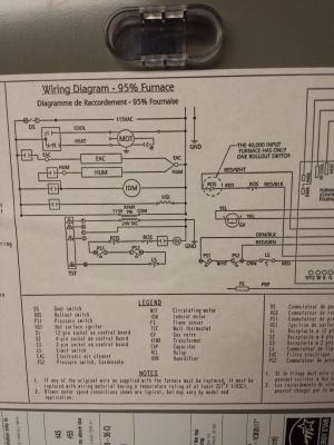 hvac  How can I modify a 4 wire thermostat to a new