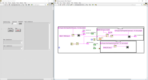 small resolution of  here is a screen shot of the labview block diagram