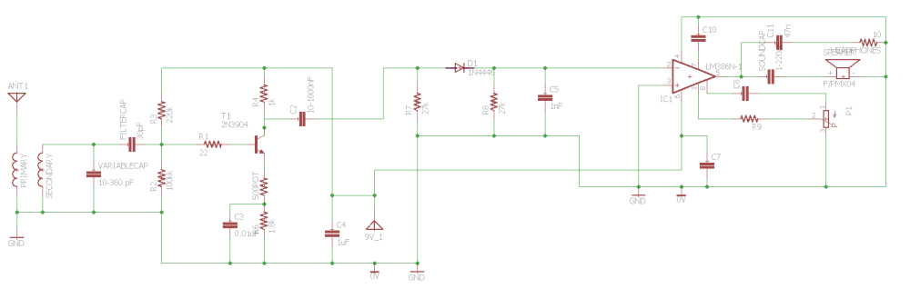 medium resolution of schematic the input for the 9v