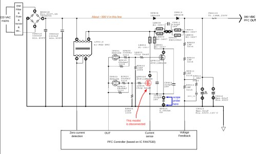 small resolution of power supply partial schematic