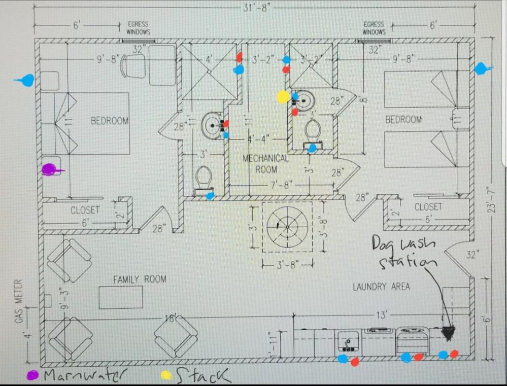 medium resolution of  new basement floor plan