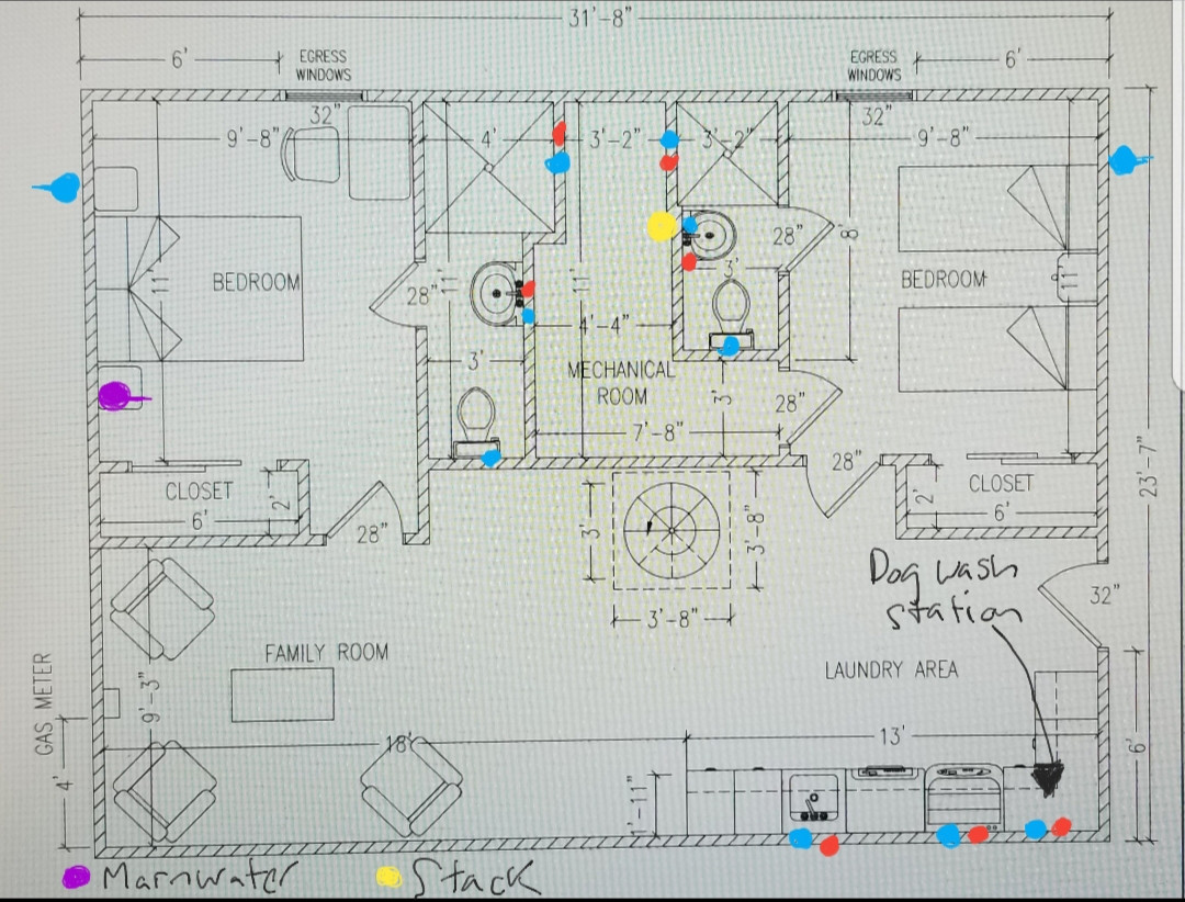 hight resolution of  new basement floor plan