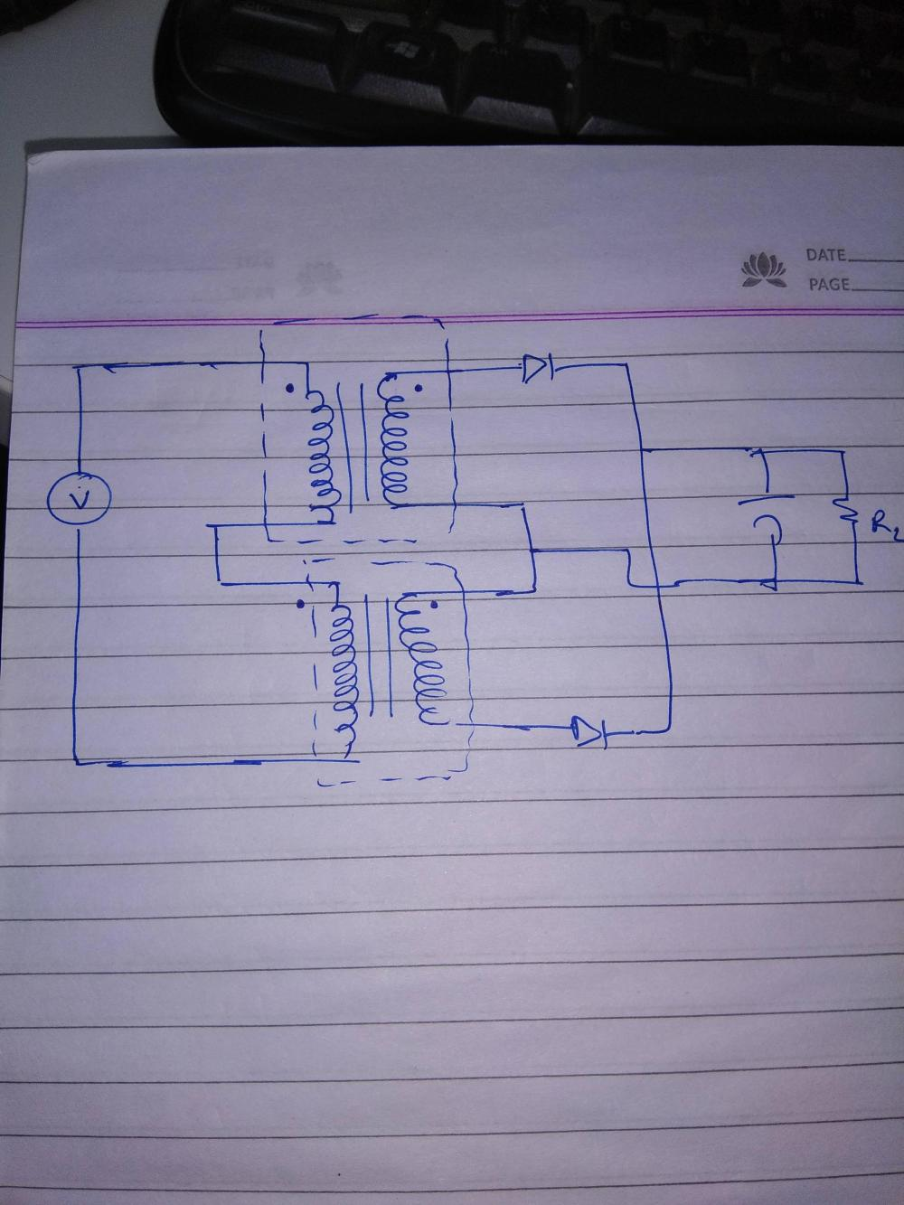 medium resolution of can 2 transformers secondary winding be connected in series making it a single center tap transformer