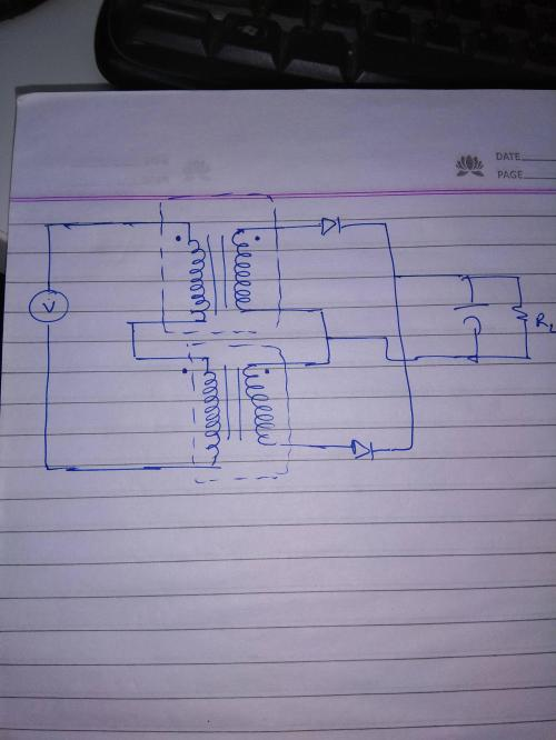 small resolution of can 2 transformers secondary winding be connected in series making it a single center tap transformer