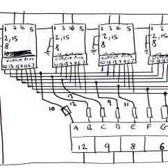 Decade Counter Circuit Diagram Using 7490 Sony Xplod Cdx F5710 Wiring Multiplexer 4 Digit 7 Segment Cc All Digits Count The