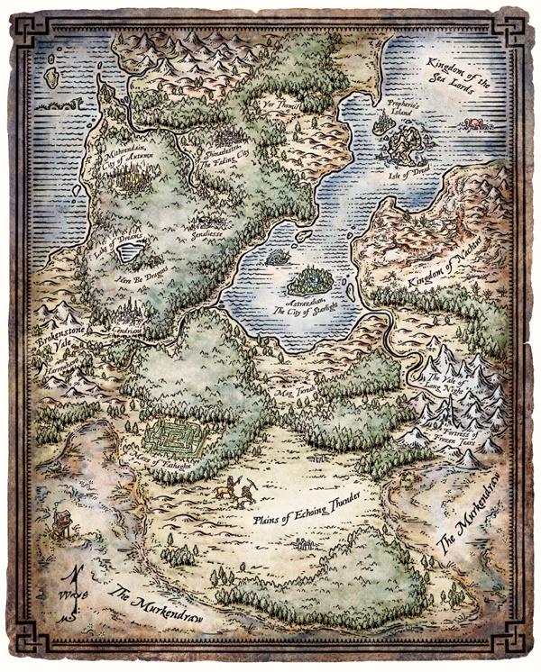 Interactive Map Of Faerun : interactive, faerun, Faerun, World, Atlas