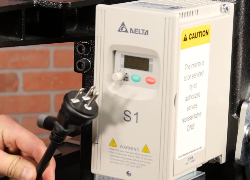 medium resolution of lathe controller and plug
