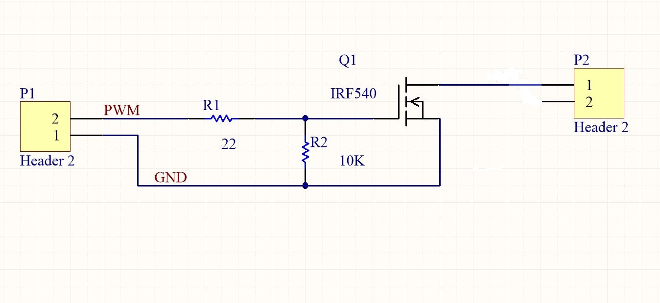 Simple MOSFET Switch Circuit PCB Design In Altium