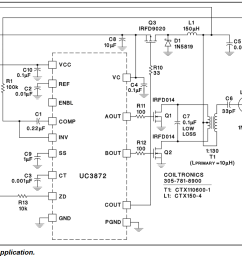 electronic ballast driving compact uv lamp with dc electrical uv lamp ballast circuit diagram [ 1095 x 771 Pixel ]