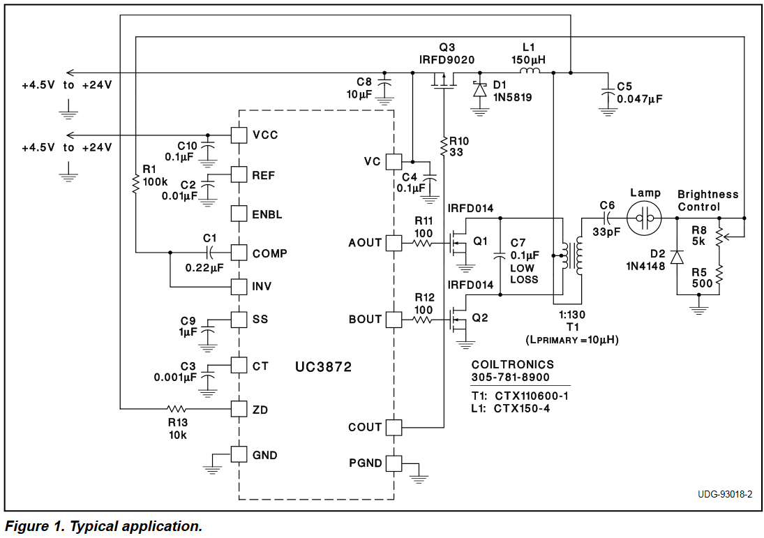 hight resolution of electronic ballast driving compact uv lamp with dc electrical uv lamp ballast circuit diagram
