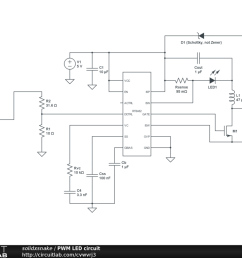 microcontroller designing high power led driver with pwm schematic specifics power circuit the power circuit is just a [ 1024 x 768 Pixel ]