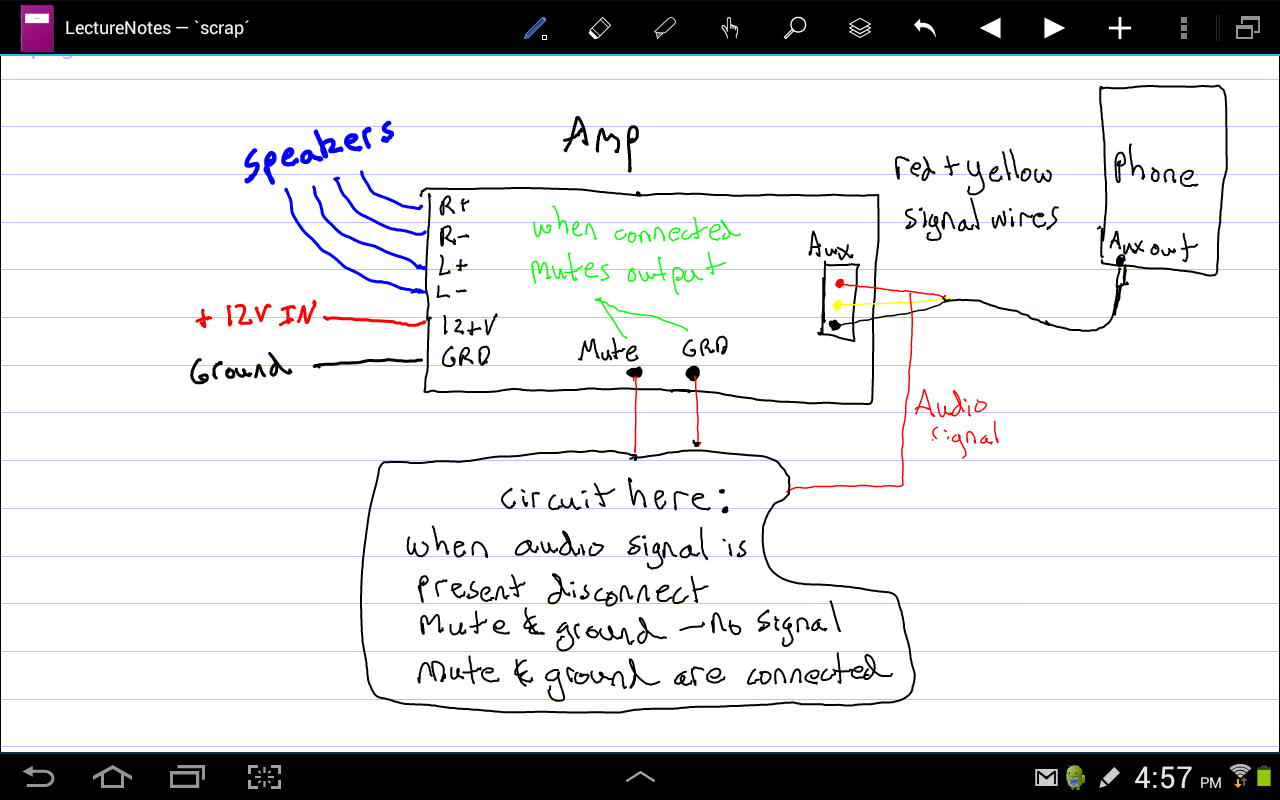 guitar output jack wiring diagram 1994 honda civic fuse switches - control a switch with headphone electrical engineering stack exchange