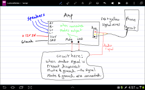 switches  Control a switch with headphone output jack  Electrical Engineering Stack Exchange