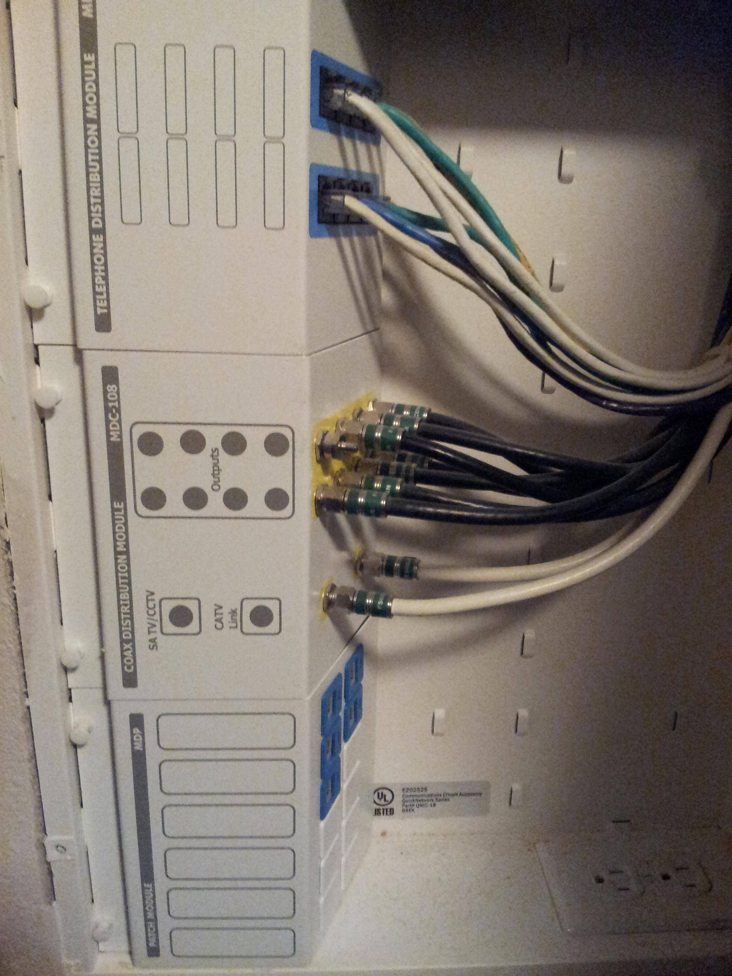 Cat5 Distribution Panel Wiring