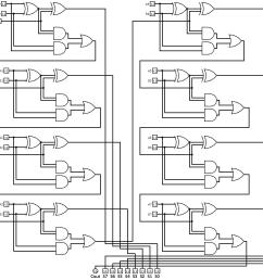 logic gates how to make 2 bit or more half adder circuit 1 bit full adder 8 bit adder logic diagram [ 1180 x 1132 Pixel ]