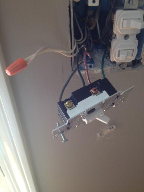 Light Switch Dimmer Wiring Also The Wires Are Already