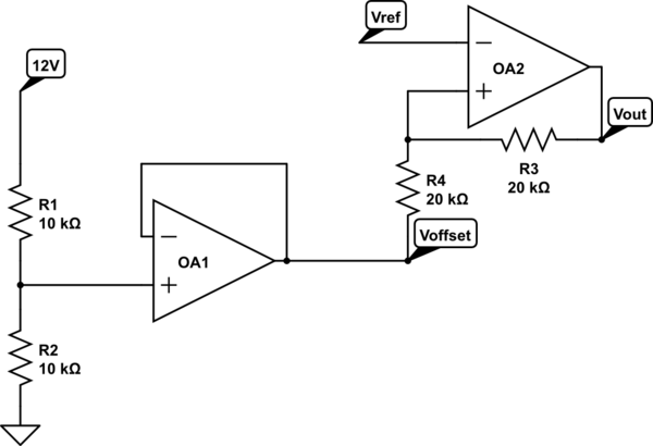 Set a reference voltage: using a zener diode vs using a