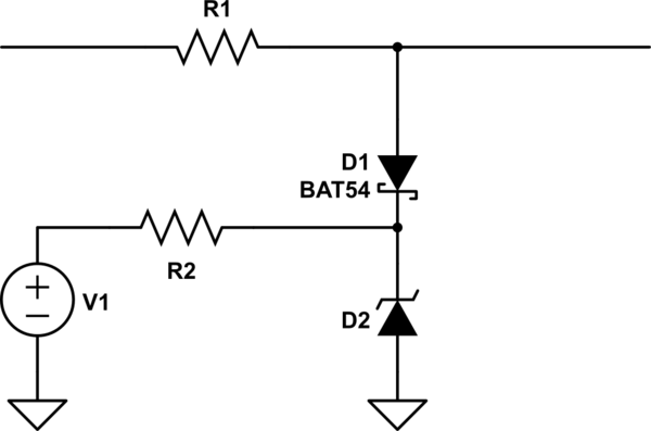 Which zener diode types are proper for clamping the