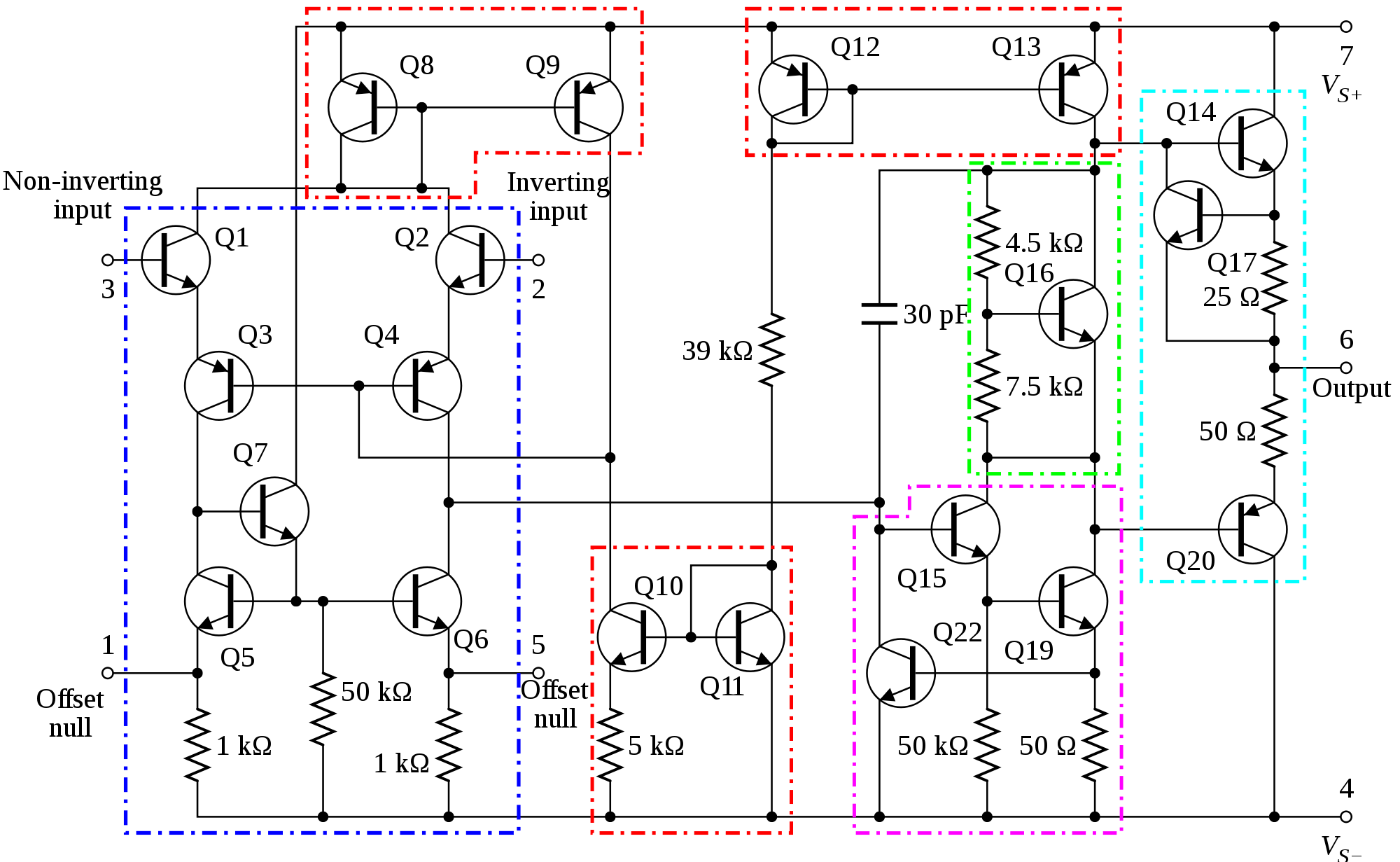 circuit diagram of non inverting amplifier 1999 ford windstar wiring op amp how the inputs become equal