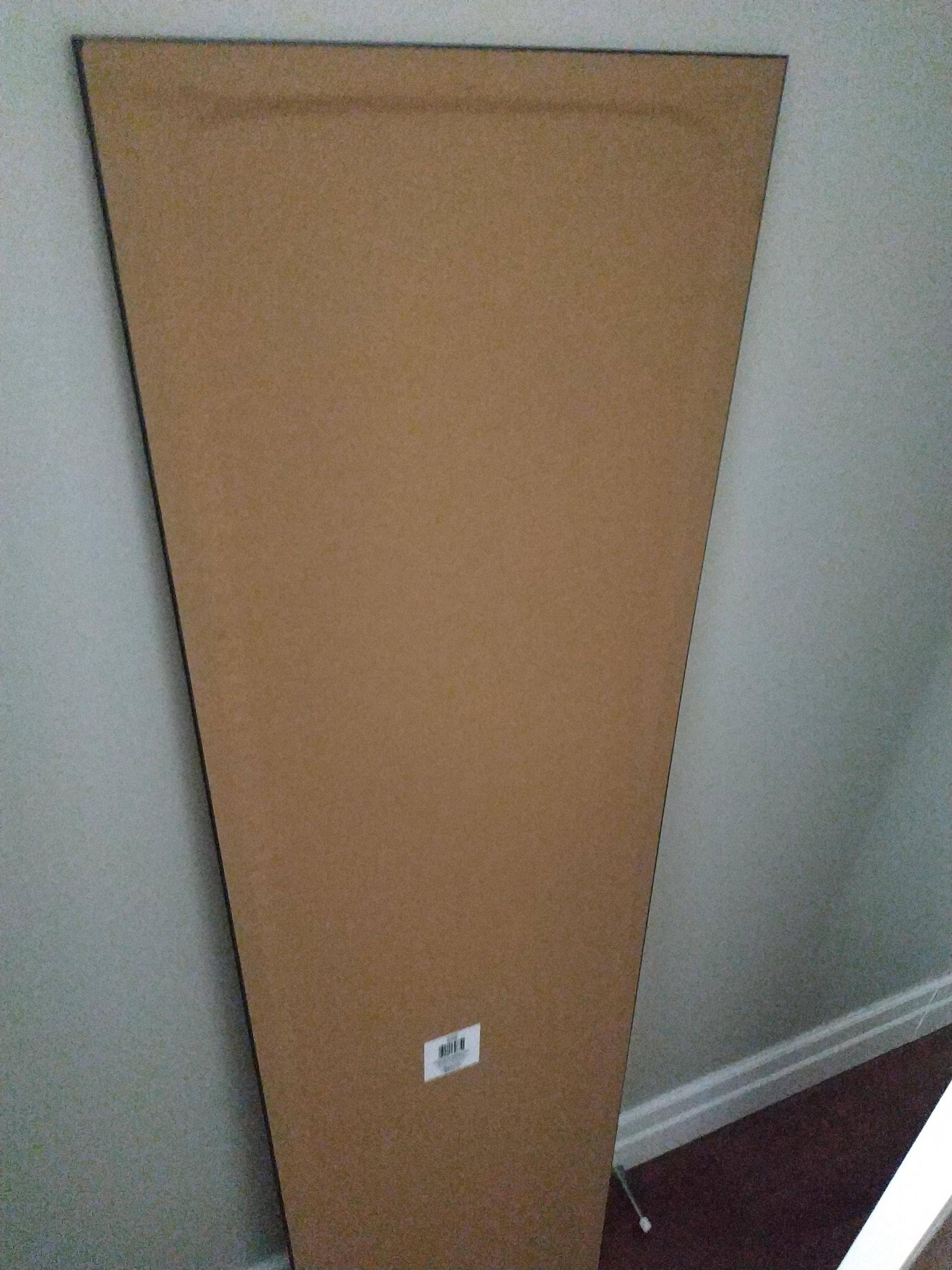 Safely Hang A Mirror That Does Not Have Hooks Home Improvement Stack Exchange
