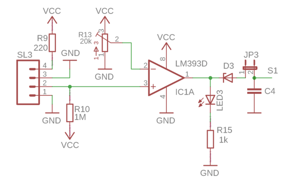medium resolution of cg ir sensor connection