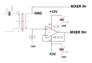 Ne5532 Diagram Amplifier  Tigastanito